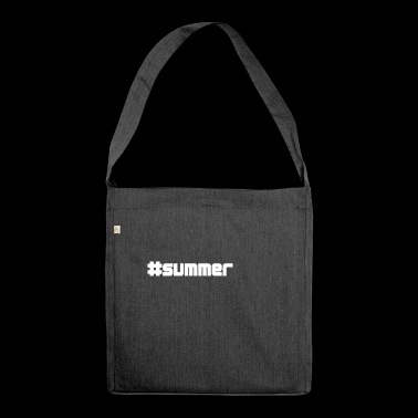 summer summer - Shoulder Bag made from recycled material