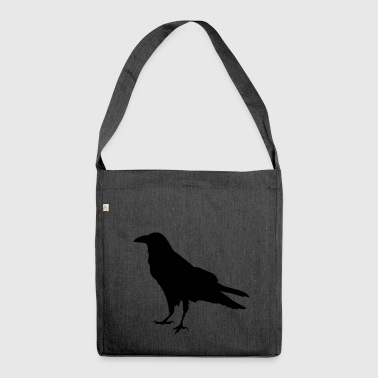 Raven crow - Shoulder Bag made from recycled material