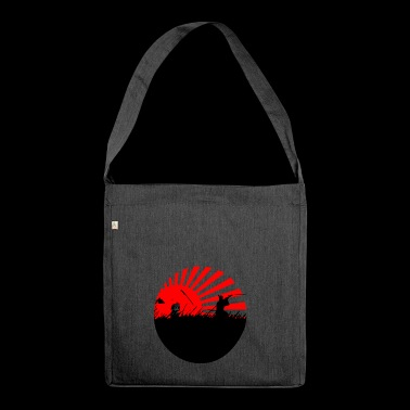 SAMURAI - Shoulder Bag made from recycled material