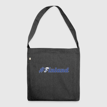 #Finland - Shoulder Bag made from recycled material