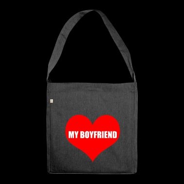 boyfriend - Shoulder Bag made from recycled material