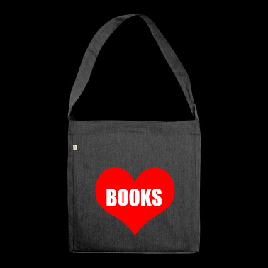 books - Shoulder Bag made from recycled material