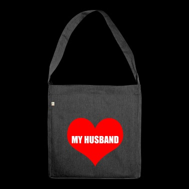 husband - Shoulder Bag made from recycled material