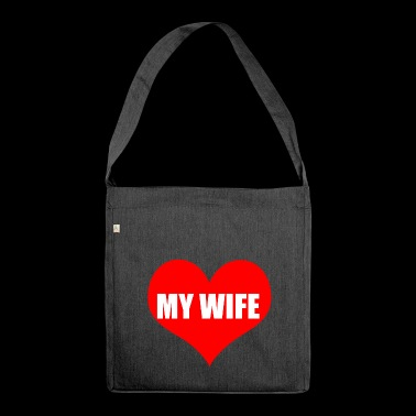 wife - Shoulder Bag made from recycled material