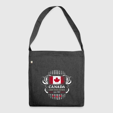 Flag Flag Canada Canada Maple leaf 2 - Shoulder Bag made from recycled material