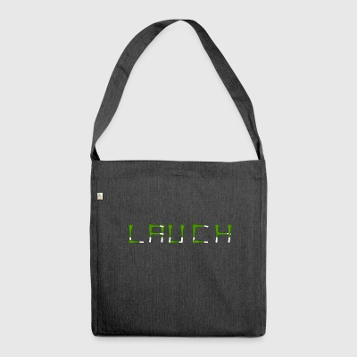 leek - Shoulder Bag made from recycled material
