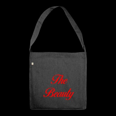 The beauty - Shoulder Bag made from recycled material