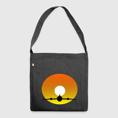 rainbow sun clouds weather rainbow sun cloud15 - Shoulder Bag made from recycled material