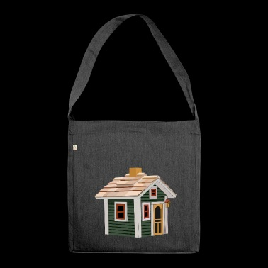 hut - Shoulder Bag made from recycled material