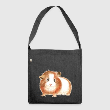 Guinea pig - the shirt for more pigs! - Shoulder Bag made from recycled material
