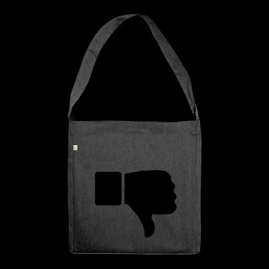 thumbs down - Shoulder Bag made from recycled material