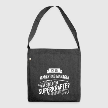 Marketing Manager - Schultertasche aus Recycling-Material