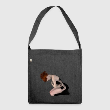 Lover / BDSM / slave / submissive / gift - Shoulder Bag made from recycled material