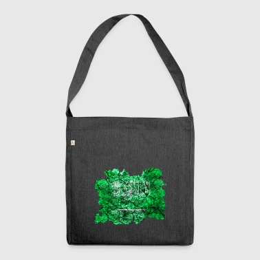 Saudi Arabia vintage flag - Shoulder Bag made from recycled material