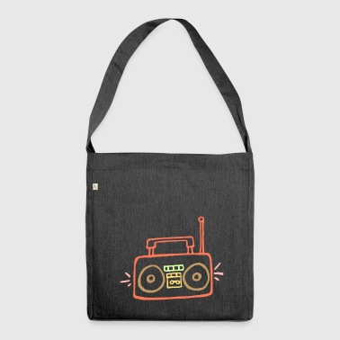 Radio - Schultertasche aus Recycling-Material