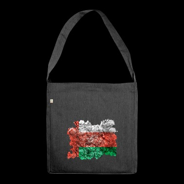 Oman vintage flag - Shoulder Bag made from recycled material