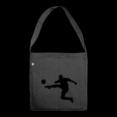kicker de football - Sac bandoulière 100 % recyclé