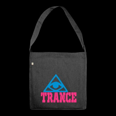 Trance - Schultertasche aus Recycling-Material