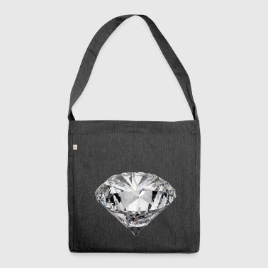Diamant - Schultertasche aus Recycling-Material