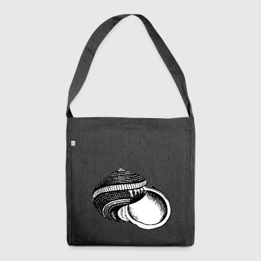 Snail shell - Shoulder Bag made from recycled material