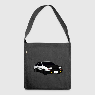 Initial D Drifting Akina - Shoulder Bag made from recycled material