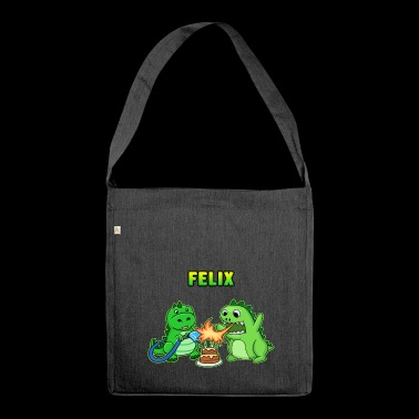 Felix birthday gift - Shoulder Bag made from recycled material