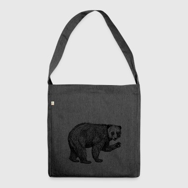 Bear Bamboozle - Shoulder Bag made from recycled material