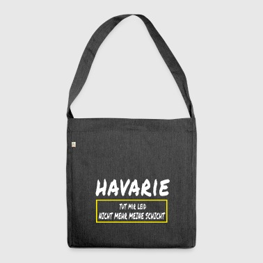 Havarie - Schultertasche aus Recycling-Material