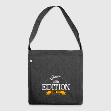 Geburtstag - Special Limited Edition Since 1957 - Schultertasche aus Recycling-Material