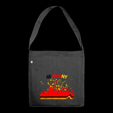 Germany Fan Fan Shirt Soccer - Shoulder Bag made from recycled material