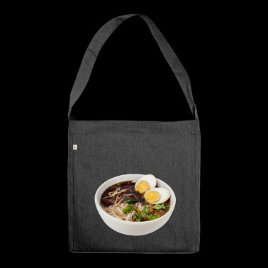 noodle soup - Shoulder Bag made from recycled material