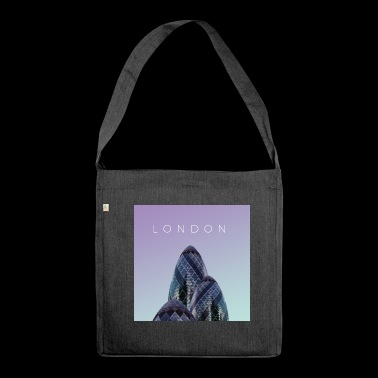 London poster - Shoulder Bag made from recycled material