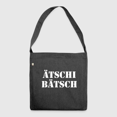 Eschi Bätsch Schadenfreude ridicule derision - Shoulder Bag made from recycled material