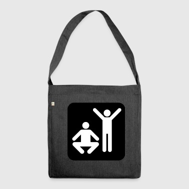Fitness Workout Workout Tshirt - Shoulder Bag made from recycled material