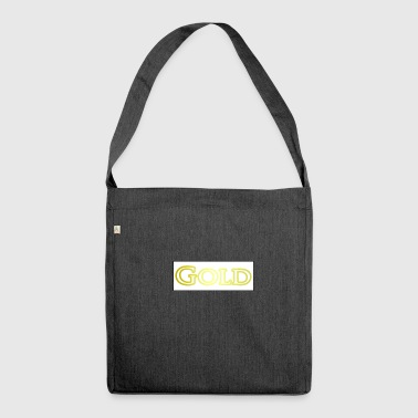 gold - Shoulder Bag made from recycled material