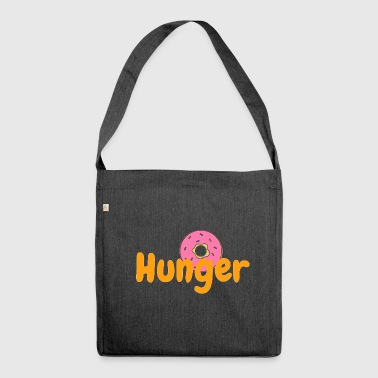 Ich habe Hunger - Schultertasche aus Recycling-Material