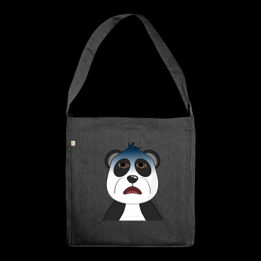Surprising Panda - Shoulder Bag made from recycled material