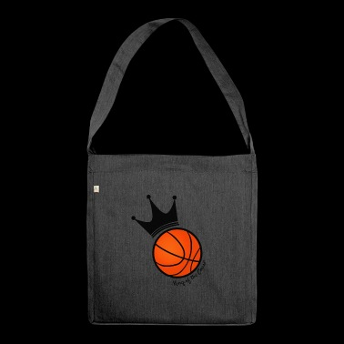 King of the court basketball - Shoulder Bag made from recycled material