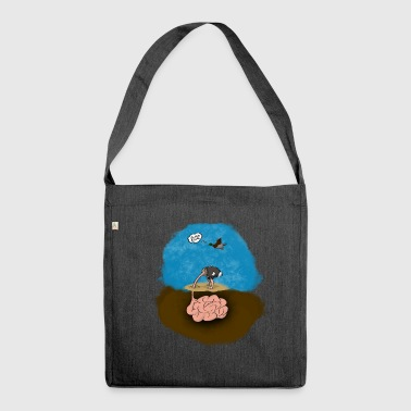 Dumb Bird - Shoulder Bag made from recycled material
