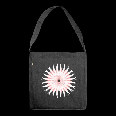 Flowers bloom - Shoulder Bag made from recycled material