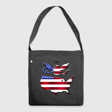 America - Borsa in materiale riciclato