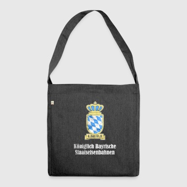 Royal Bavarian State Railways - Shoulder Bag made from recycled material