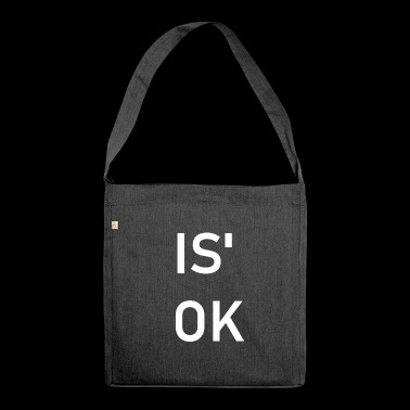 È 'OK Slang idea regalo impronta - Borsa in materiale riciclato