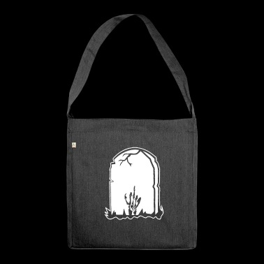 Stinky finger - grave - Shoulder Bag made from recycled material