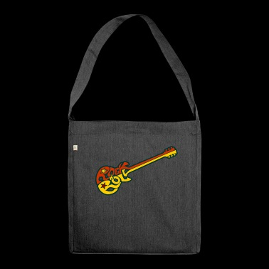 Rock n 'roll guitar - Shoulder Bag made from recycled material