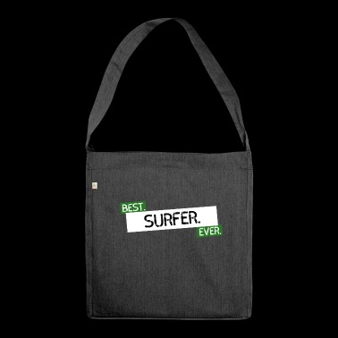 Surfer superstar - Shoulder Bag made from recycled material