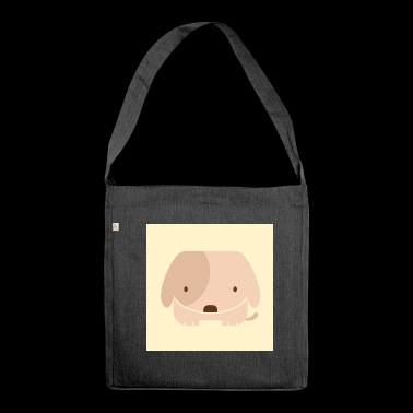 Small dog - Shoulder Bag made from recycled material
