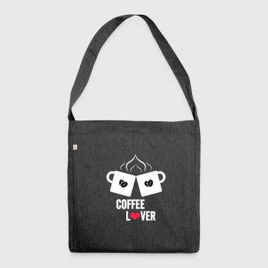 Coffee, Coffee, Coffee - Shoulder Bag made from recycled material
