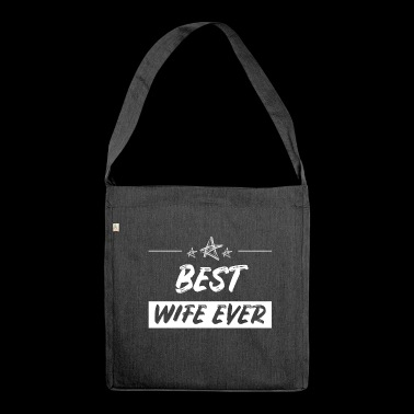Wife wife wife - Shoulder Bag made from recycled material