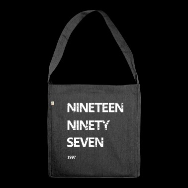 Nineteen Ninety Seven - Shoulder Bag made from recycled material